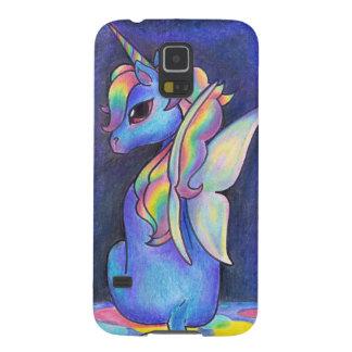 Rainbow Faerie Unicorn Galaxy S5 Covers