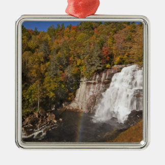 Rainbow Falls in Gorges State Park in North Christmas Ornament