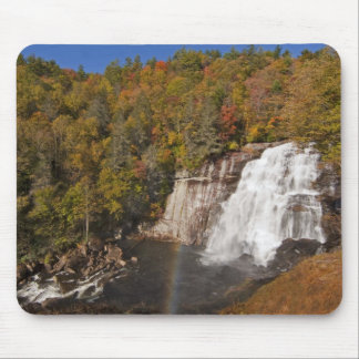 Rainbow Falls in Gorges State Park in North Mouse Mat