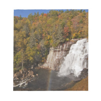 Rainbow Falls in Gorges State Park in North Notepad
