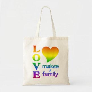 RAINBOW FAMILY bag - choose style & color
