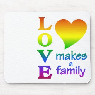 Rainbow Family mousepad, customize Mouse Pad