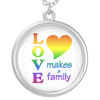 Rainbow Family necklace