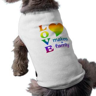 Rainbow Family pet clothing