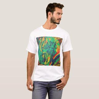 "Rainbow Family ""Welcome Home"" Blotter Art T-Shirt"