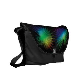 Rainbow Fan Messenger Bags