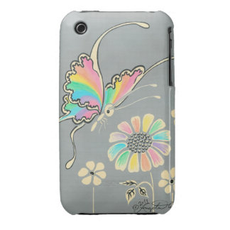 Rainbow Fantasy Butterfly iPhone 3 Case