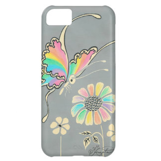 Rainbow Fantasy Butterfly iPhone 5C Case