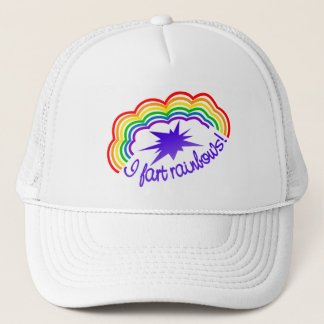 Rainbow Farts hat - choose color