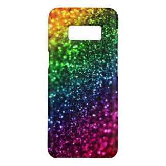 Rainbow Faux  Glitter Psychedelic Case-Mate Samsung Galaxy S8 Case