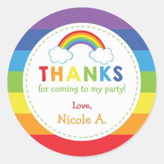 Rainbow Favor Tags / Rainbow Stickers