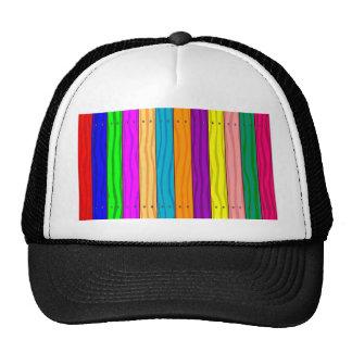 Rainbow Fence Cap