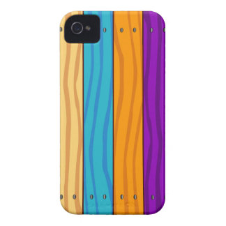 Rainbow Fence iPhone 4 Covers