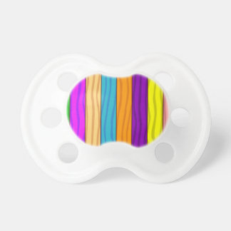 Rainbow Fence Pacifier