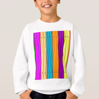 Rainbow Fence Sweatshirt