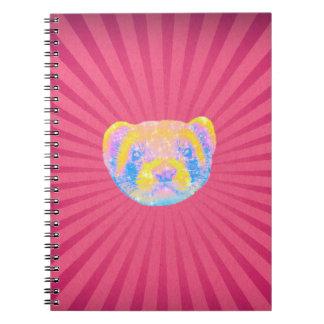 Rainbow Ferret Notebook