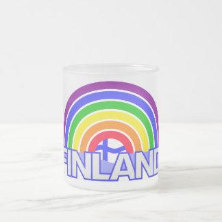 Rainbow Finland mug