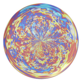 Rainbow Fire Muted Plate