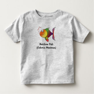 Rainbow Fish Toddler and Baby Tee