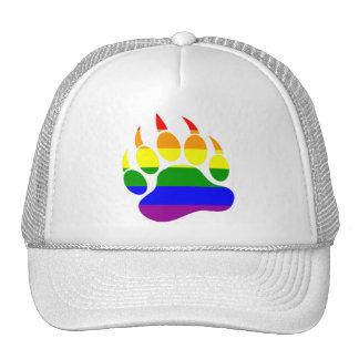 Rainbow flab bear claw-Hat Cap