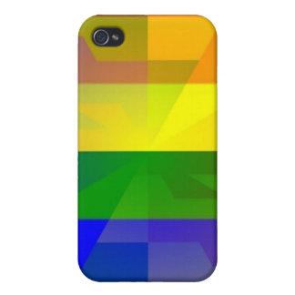 Rainbow Flack Case iPhone 4 Case