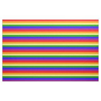 Rainbow flag fabric