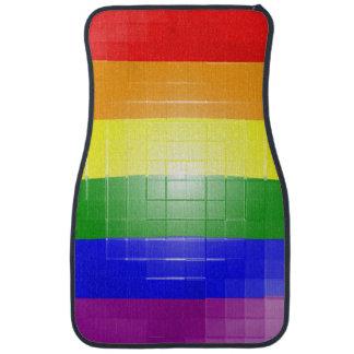 Rainbow Flag Floor Mat