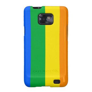 Rainbow Flag Galaxy S2 Covers