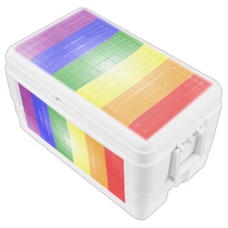 Rainbow Flag Ice Chest
