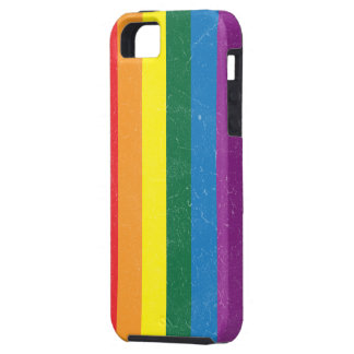 Rainbow Flag - LGBT Movement iPhone 5 Cases
