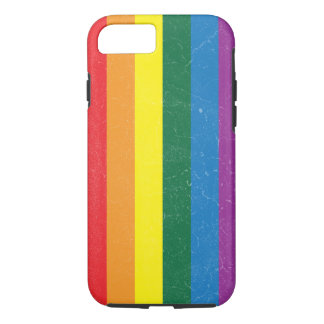 Rainbow Flag - LGBT Movement iPhone 7 Case