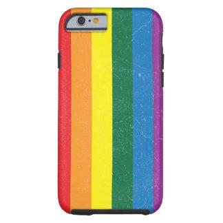 Rainbow Flag - LGBT Movement Tough iPhone 6 Case