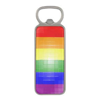 Rainbow Flag Magnetic Bottle Opener