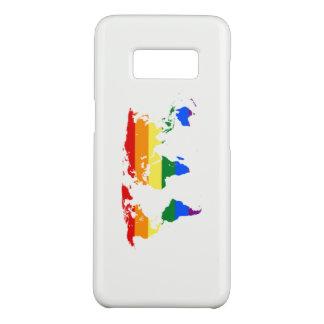 Rainbow Flag Map Phone Case