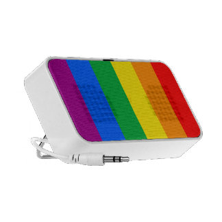 Rainbow Flag Mini Speakers