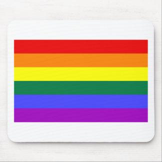 Rainbow Flag Mouse Mat