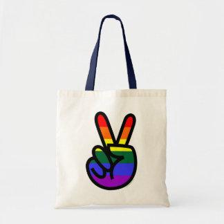 Rainbow Flag Peace Bags