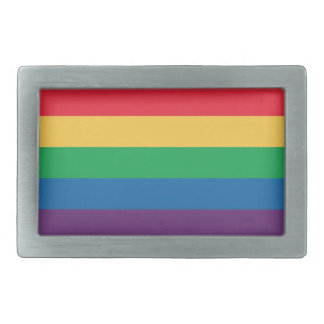 Rainbow Flag Pride Belt Buckle