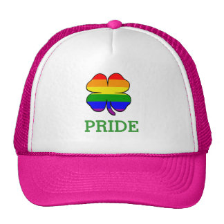Rainbow flag Shamrock Gay Pride Cap