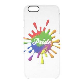 Rainbow Flag Splash Pride iPhone 6 Plus Case
