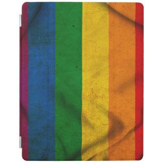 RAINBOW FLAG SQUARE CANVAS iPad COVER