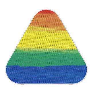 RAINBOW FLAG SQUARE OIL PAINT BLUETOOTH SPEAKER
