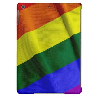 RAINBOW FLAG SQUARE RIBBON iPad AIR CASES