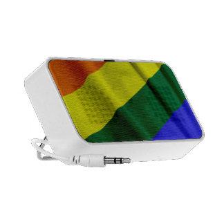 RAINBOW FLAG SQUARE RIBBON MINI SPEAKER