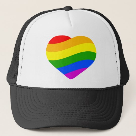 Rainbow Flag Trucker Hat