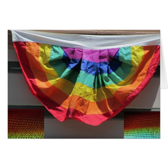 Rainbow Flag Underwear Card