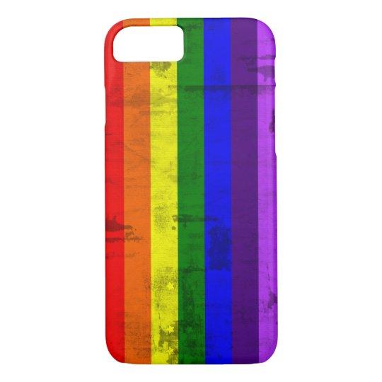Rainbow flag vintage iPhone 8/7 case