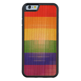 Rainbow Flag Carved® Cherry iPhone 6 Bumper Case