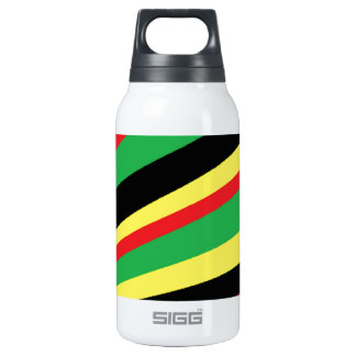 rainbow flash insulated water bottle