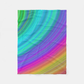Rainbow Fleece Blanket